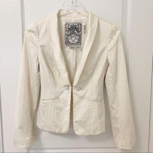 Guess White Blazer Jacket